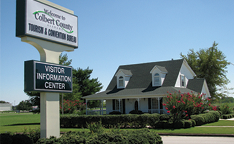 Colbert County Tourism Office and Visitor Center